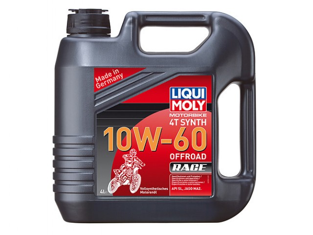 liqui moly motorbike synth 4t 10w60 off road 4l green. Black Bedroom Furniture Sets. Home Design Ideas