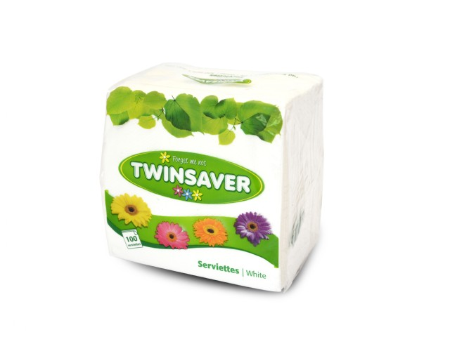 Twinsaver Serviette 100 S Green Machine Store