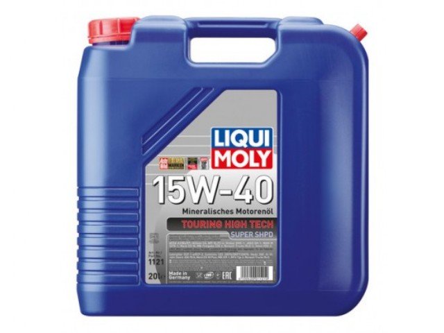 liqui moly super shpd 15w40 20l green machine store. Black Bedroom Furniture Sets. Home Design Ideas